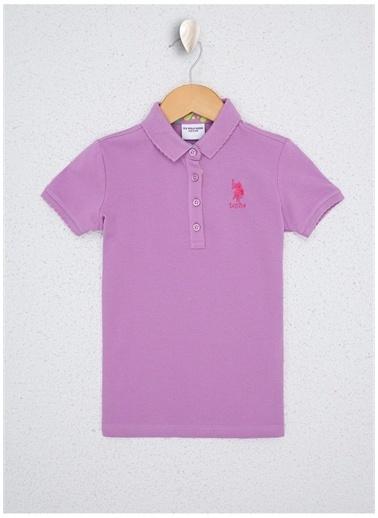 U.S. Polo Assn. Tişört Lila